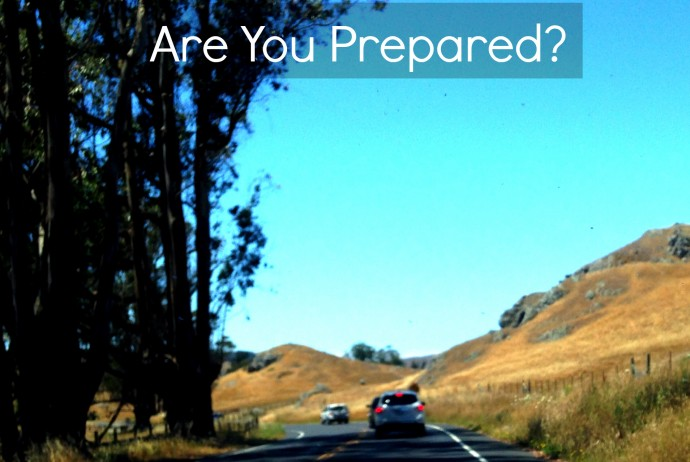 Marin Seniors: Are You Prepared? Cars traveling around a curve in North Bay.