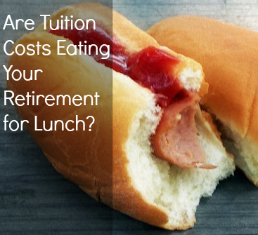 Are Tuition Costs Eating Your Retirement for Lunch? (hotdog)